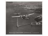 Maiden Voyage  China Clipper  San Francisco  California 1935