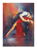 Tango Nuevo II Reproduction d'art par Pedro Alverez