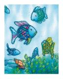 The Rainbow Fish VI Reproduction d'art par Marcus Pfister