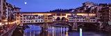 Bridge across Arno River  Ponte Vecchio  Florence  Tuscany  Italy