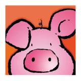 Petit cochon Reproduction d'art par Jean Paul