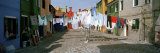 Clothesline in a Street  Burano  Veneto  Italy