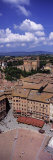 View of Buildings in a City  Piazza Del Campo  Siena  Siena Province  Tuscany  Italy