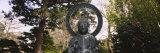 Statue of Buddha in a Park  Japanese Tea Garden  Golden Gate Park  San Francisco  California  USA