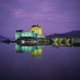 Eilean Donan Castle  Dornie  Highlands  Scotland  United Kingdom  Europe
