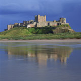 Bamburgh Castle  Northumberland  England  United Kingdom  Europe