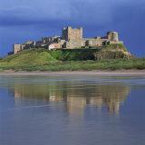 Bamburgh Castle  Northumberland  England  United Kingdom  Europe