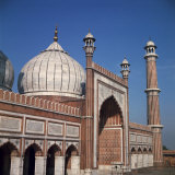 Jumma Mosque  Delhi  India