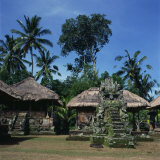 Sashi Grounds of the Pura Temple  Penata Area  Pejeng  Bali  Indonesia  Southeast Asia