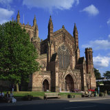 Hereford Cathedral  Hereford  Herefordshire  England  United Kingdom  Europe