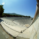 Theatre at the Archaeological Site of Epidavros  UNESCO World Heritage Site  Greece  Europe