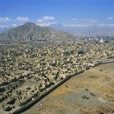 Devastation from Civil War  Kabul  Afghanistan