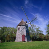Oldest Windmill on Cape Cod  Dating from 1680  at Eastham  Massachusetts  New England  USA