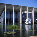 Palacio Do Itamaraty  Brasilia  UNESCO World Heritage Site  Brazil  South America