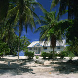 Typical Cottage on the North Side of Grand Cayman  Cayman Islands  West Indies  Caribbean