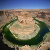 Horseshoe Bend  Colorado River  Near Page  Arizona  United States of America  North America
