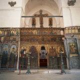 Iconostasis in Former Monastery of Apostolos Varnavas  St Barnabas  North Cyprus