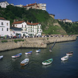 Old Port at Getxo  an Atlantic Resort at the Mouth of the Bilbao River  Pais Vasco  Spain  Europe