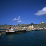 Mindelo  Sao Vicente Island  in the Republic of the Cape Verde Islands  Atlantic