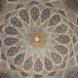 Detail of Interior of the Tomb of the Persian Poet Hafiz  Shiraz  Iran  Middle East