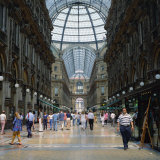 Galleria Vittoria Emanuele  the World's Oldest Shopping Mall  in the City of Milan  Lombardy  Italy