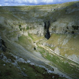 Gordale Scar  Yorkshire Dales National Park  North Yorkshire  England  United Kingdom  Europe