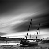 Aln Estuary at Low Tide  Alnmouth  Alnwick  Northumberland  England  UK