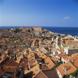 Dubrovnik  UNESCO World Heritage Site  Croatia  Europe