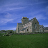 Abbey on Iona  Scotland  United Kingdom  Europe