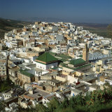 Moulay Idriss  Including the Tomb and Zaouia of Moulay Idriss  Morocco
