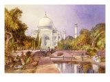The Taj Mahal  Agra  England  1864