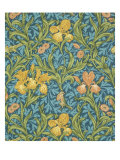 Iris Wallpaper  Paper  England  Late 19th Century