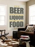 Beer  Liquor  Food