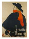Aristide Bruant Dans Son Cabaret  France  1893