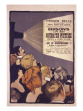 Edison's Life-Size Animated Pictures  England  1901