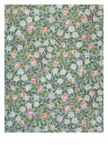 Clover Wallpaper  Paper  England  Late 19th Century