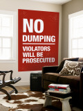 No Dumping