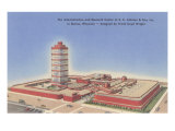 Johnson Wax Building  Racine  Wisconsin