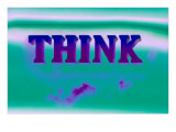 Think  Purple and Green