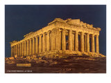 Parthenon at Night  Acropolis