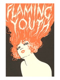 Flaming Youth  Woman with Flaming Hair