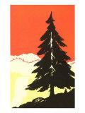 Lone Pine Silhouette