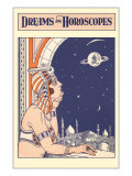 Dreams and Horoscopes  Mooning Harem Girl
