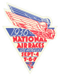 1936 National Air Races Logo