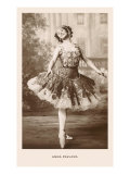 Anna Pavlova in Ballet Pose