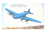 Boeing Substratosphere Liner Airplane