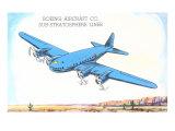 Boeing Substratosphere Liner Airplane