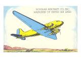 Douglas Mainliner  United Airlines