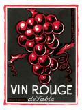 Vin Rouge Label