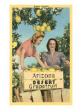 Women with Grapefruit  Arizona